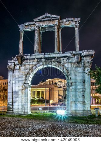 Arch of Temple of Olympian Zeus