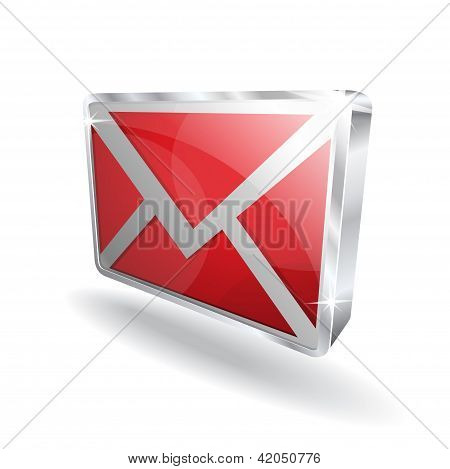 3d Email Vector Icon