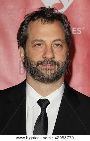 LOS ANGELES - FEB 8:  Judd Apatow arrives at the 2013 MusiCares Person Of The Year Gala Honoring Bruce Springsteen  at the Los Angeles Convention Center on February 8, 2013 in Los Angeles, CA