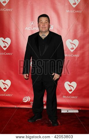 LOS ANGELES - FEB 8:  Ken Casey arrives at the 2013 MusiCares Person Of The Year Gala Honoring Bruce Springsteen  at the Los Angeles Convention Center on February 8, 2013 in Los Angeles, CA