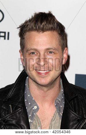 LOS ANGELES - FEB 9:  Ryan Tedder arrives at the Clive Davis 2013 Pre-GRAMMY Gala at the Beverly Hilton Hotel on February 9, 2013 in Beverly Hills, CA