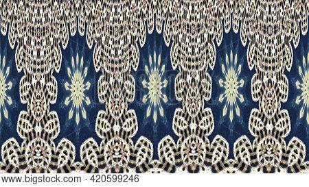 Lace Border Pattern. Carpet Texture. Borders Textured Background. Surface Repeat Backdrop. Decorativ