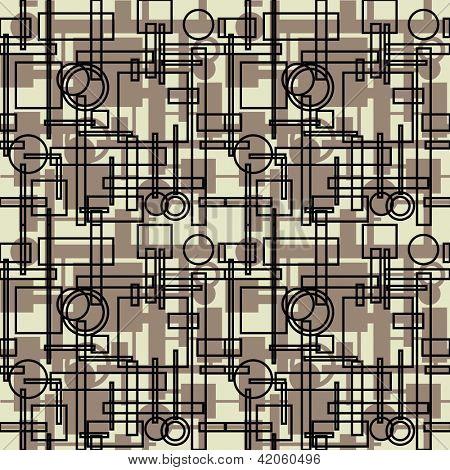 art vintage geometric pattern monochrom background
