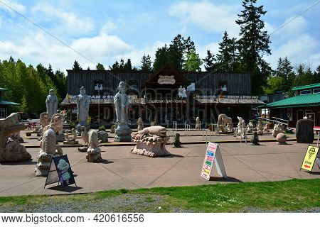 Coombs Bc,canada, May 10th 2021. Coombs Is A Great Place To Visit When On Vancouver Island. Fine Sho