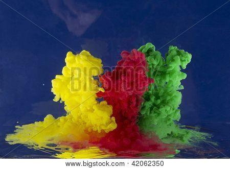 Abstraction -ferrous Liquid