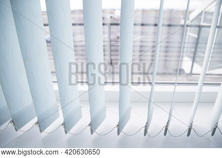 Vertical Blinds For Windows.vertical Blinds In The Office.