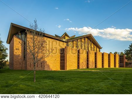 Temple Emanuel Synagogue In Denver, Colorado, The Largest And Oldest Synagogue In The Rocky Mountain