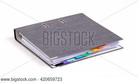 Black Archive Business Folder
