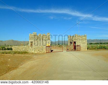 Sossusvlei, Namibia - 02 May 2012: The Lodge In Namib Desert, Sossusvlei, Namibia