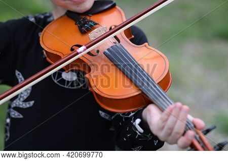 Violin Concert Rehearsal Magic Sounds Of Music