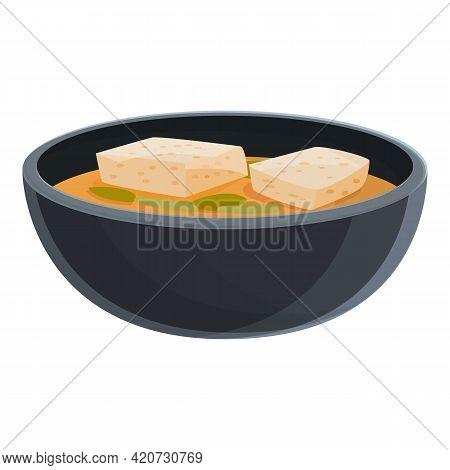 Korean Dish Icon. Cartoon Of Korean Dish Vector Icon For Web Design Isolated On White Background