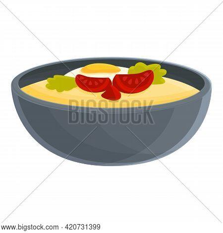 Korean Dinner Icon. Cartoon Of Korean Dinner Vector Icon For Web Design Isolated On White Background