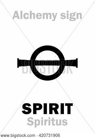 Alchemy Alphabet: Spirit (spiritus), Subtle Substance (liquor, Essence, Extract) From Another Substa