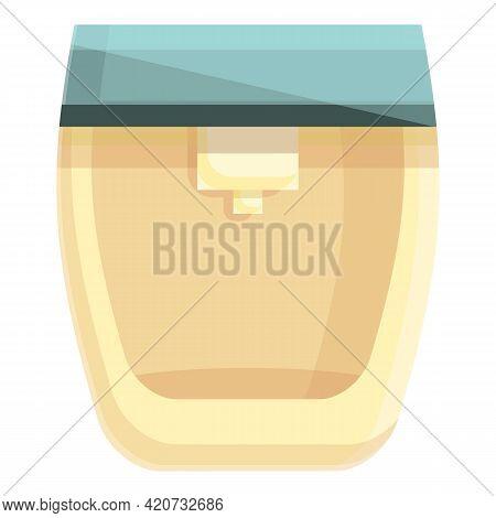 Juice Machine Icon. Cartoon Of Juice Machine Vector Icon For Web Design Isolated On White Background