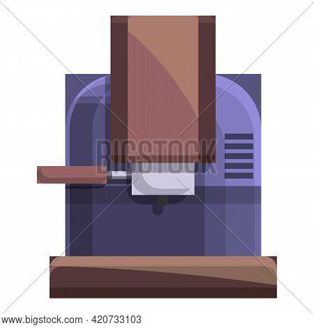 Barista Coffee Machine Icon. Cartoon Of Barista Coffee Machine Vector Icon For Web Design Isolated O