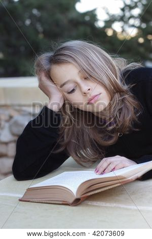 Grumpy Teenage Student