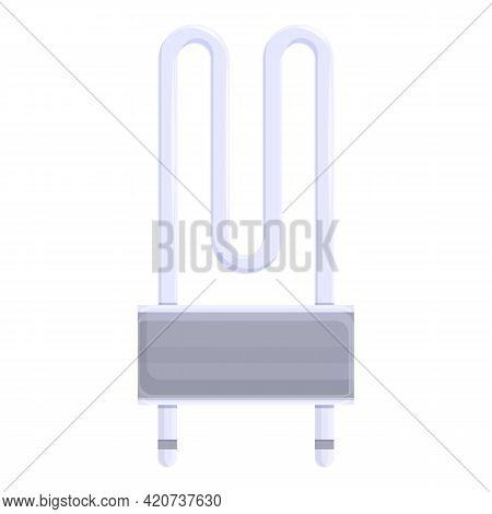 Heat Pipe Washing Machine Icon. Cartoon Of Heat Pipe Washing Machine Vector Icon For Web Design Isol