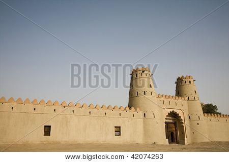 Front entrance of Al Jahli Fort