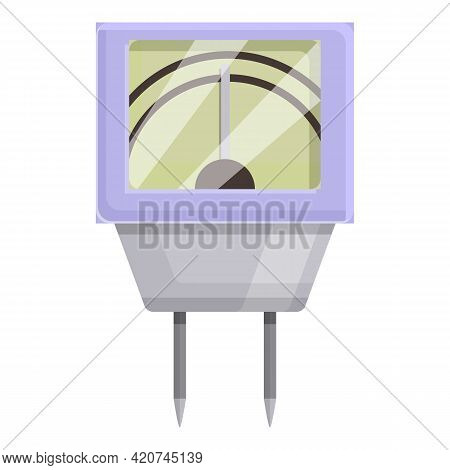 Ph Meter Biology Icon. Cartoon Of Ph Meter Biology Vector Icon For Web Design Isolated On White Back