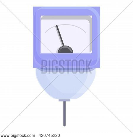 Ph Meter Computer Icon. Cartoon Of Ph Meter Computer Vector Icon For Web Design Isolated On White Ba