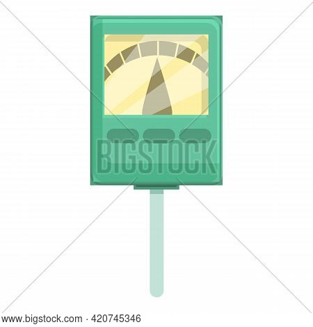 Ph Meter Clinical Icon. Cartoon Of Ph Meter Clinical Vector Icon For Web Design Isolated On White Ba