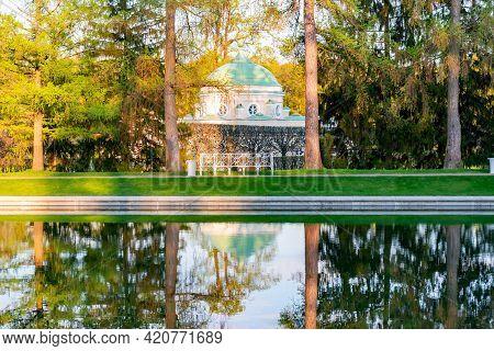 Lower Bath In Catherine Park, Tsarskoe Selo (pushkin), Saint Petersburg, Russia