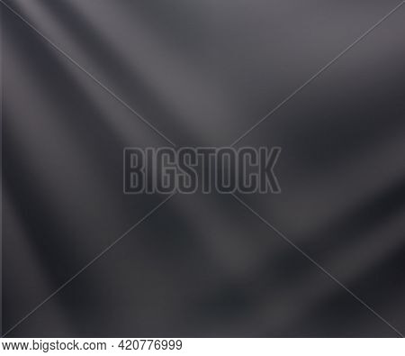 Gray Background With Rays Of Light. Soft Gray Neutral 3d Studio Background. Play Of Light. Neutral G