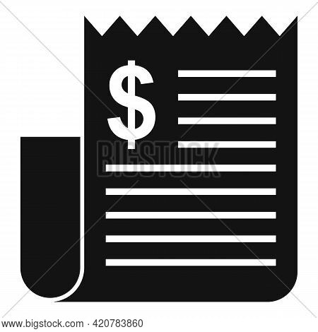 Bank Teller Payment Icon. Simple Illustration Of Bank Teller Payment Vector Icon For Web Design Isol