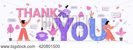 People Celebrating Thanksgiving International Thank You Day Friends Supporting Each Other And Thanki