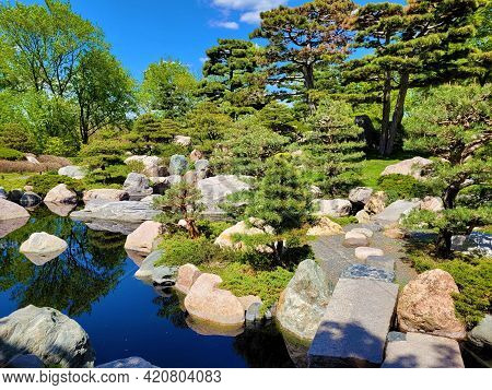 Japanese Garden At Como Zoo And Conservatory