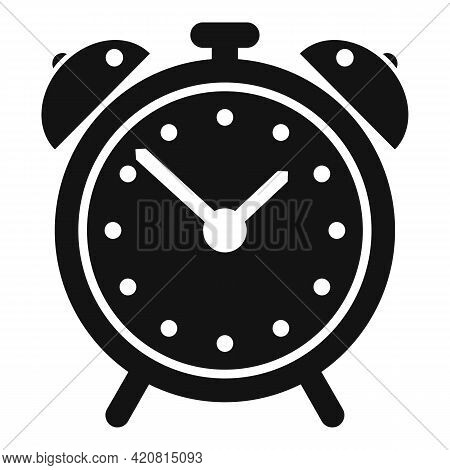 Syllabus Alarm Clock Icon. Simple Illustration Of Syllabus Alarm Clock Vector Icon For Web Design Is