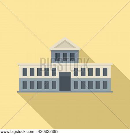 Parliament Attraction Icon. Flat Illustration Of Parliament Attraction Vector Icon For Web Design