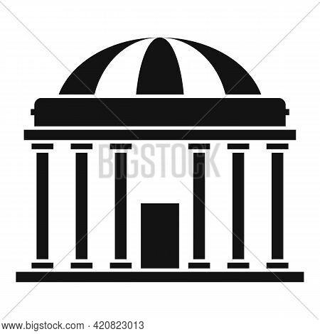 Parliament Property Icon. Simple Illustration Of Parliament Property Vector Icon For Web Design Isol