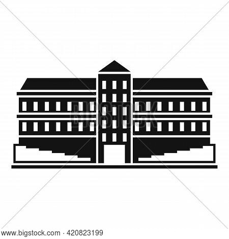 City Governance Icon. Simple Illustration Of City Governance Vector Icon For Web Design Isolated On