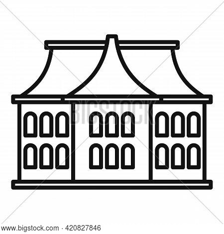 Architecture Sightseeing Icon. Outline Architecture Sightseeing Vector Icon For Web Design Isolated