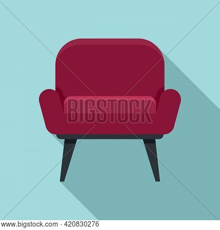 Nursing Armchair Icon. Flat Illustration Of Nursing Armchair Vector Icon For Web Design