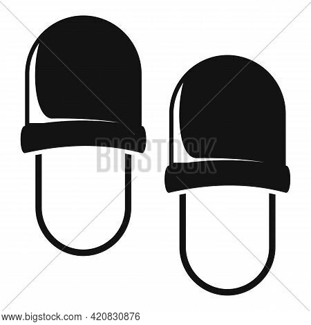 Nursing Slippers Icon. Simple Illustration Of Nursing Slippers Vector Icon For Web Design Isolated O
