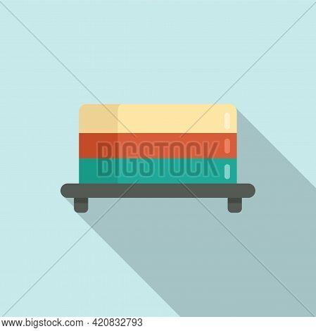 Molecular Cuisine Jelly Icon. Flat Illustration Of Molecular Cuisine Jelly Vector Icon For Web Desig
