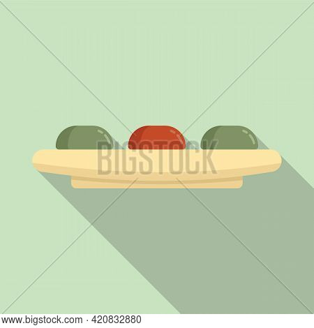Molecular Cuisine Gourmet Icon. Flat Illustration Of Molecular Cuisine Gourmet Vector Icon For Web D
