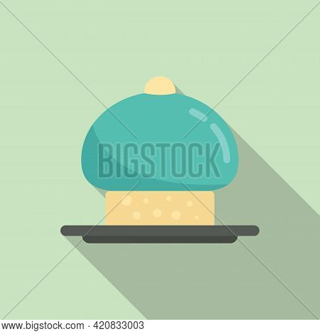 Molecular Cuisine Haute Icon. Flat Illustration Of Molecular Cuisine Haute Vector Icon For Web Desig