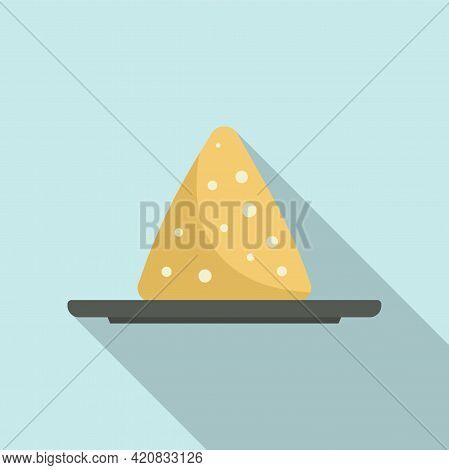 Molecular Cuisine Pile Icon. Flat Illustration Of Molecular Cuisine Pile Vector Icon For Web Design