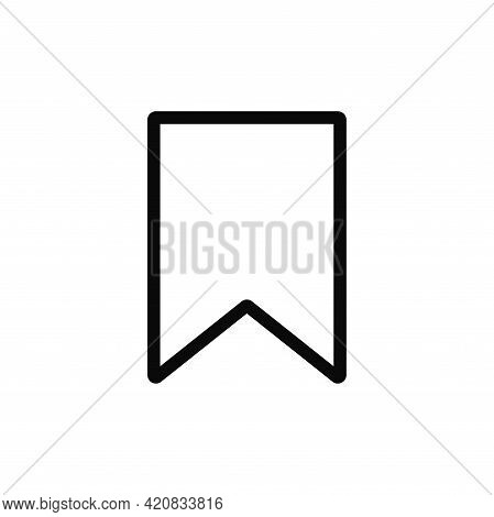 Bookmark Icon Isolated On White Background. Bookmark  Icon In Trendy Design Style For Web Site And M