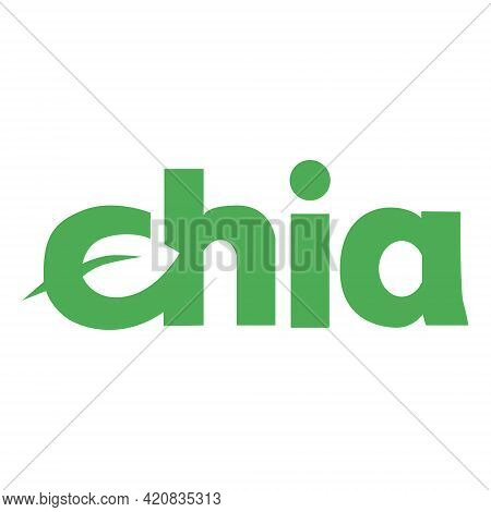 Chia Network Xch Token Symbol Cryptocurrency Logo, Coin Icon Isolated On White Background. Vector Il