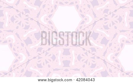 Seamless geometric pink lace background wallpaper pattern poster