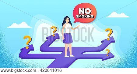 No Smoking Banner. Future Path Choice. Search Career Strategy Path. Stop Smoke Sign. Smoking Ban Sym