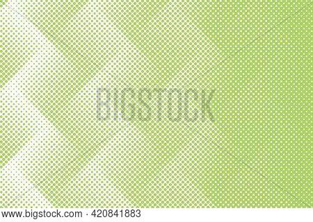 Green zigzag patterned background illustration
