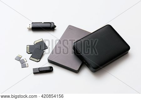 Multiple Storage Devices, Pendrive, Memory Cards, External Usb Disks, Isolated