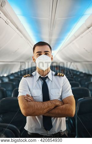 Experienced Male Pilot Ready To Fly In Modern Aircraft