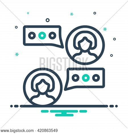 Mix Icon For Consulting Consultant Opinion Advice Counsel Rede