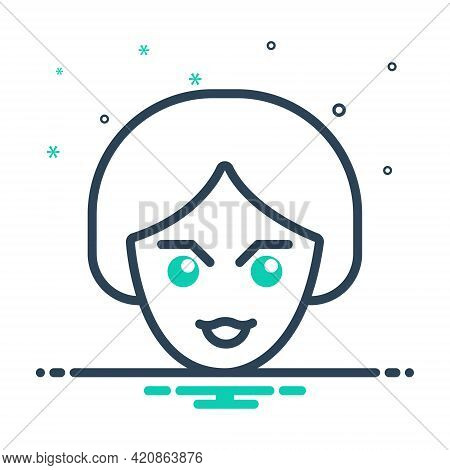 Mix Icon For Look See View Scrutinize Watch Sight Vision